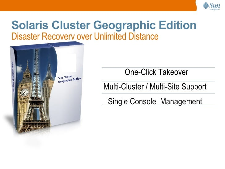 Solaris Cluster Customer Presentation
