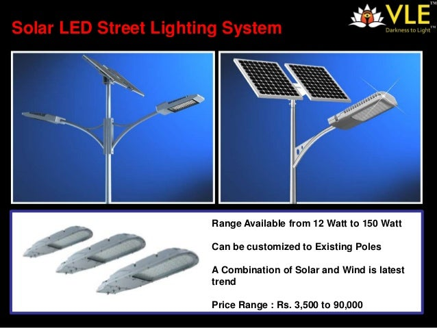 Solar Led Street Lighting By Vle