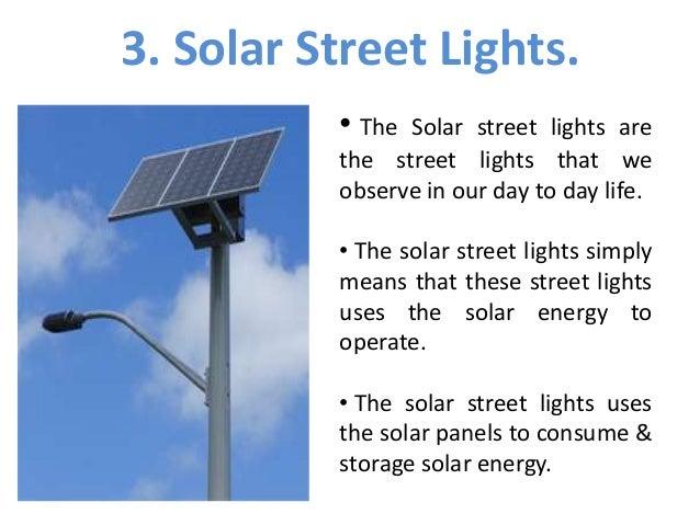 Solar Lights The Energy Saver