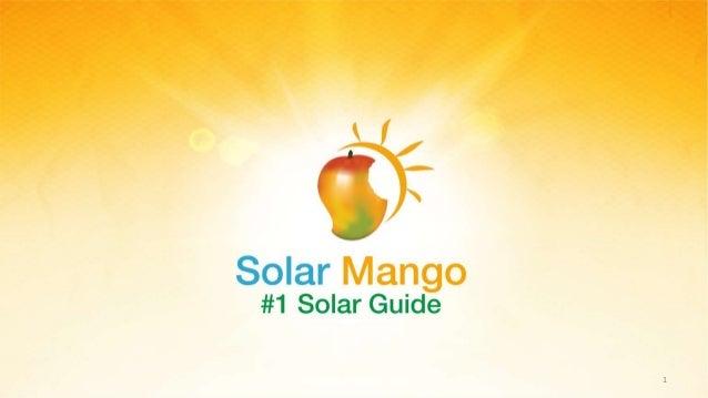 www.solarmango.com 1
