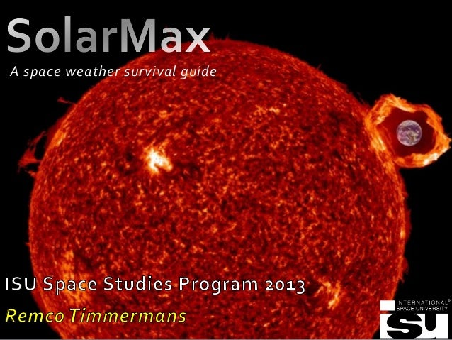 A space weather survival guide