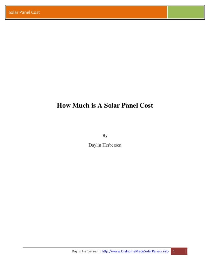 How Much is A Solar Panel Cost on a Budget