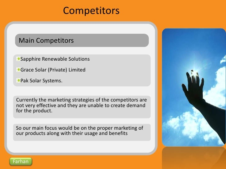 example of a solar panel business plan