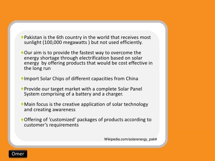 solar business plan in pakistan new season
