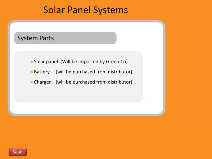 Solar business plan in india