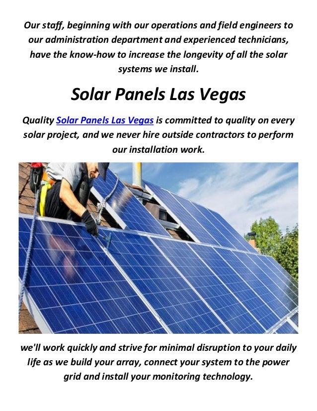 Best Solar Companies >> Solar Panels Las Vegas Quotes From Best Solar Companies