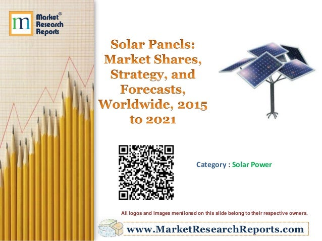 Market Plan For Solar Panels