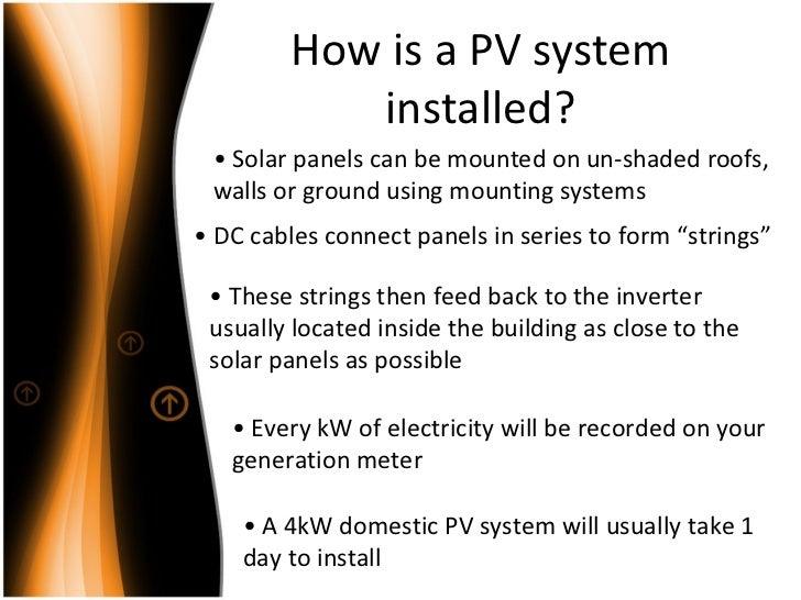 Solar Photovoltaic Powerpoint