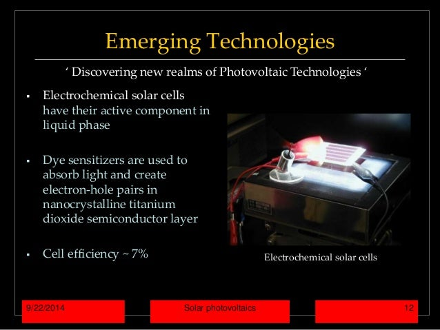 Photovoltaic Photovoltaic Cells Pros And Cons