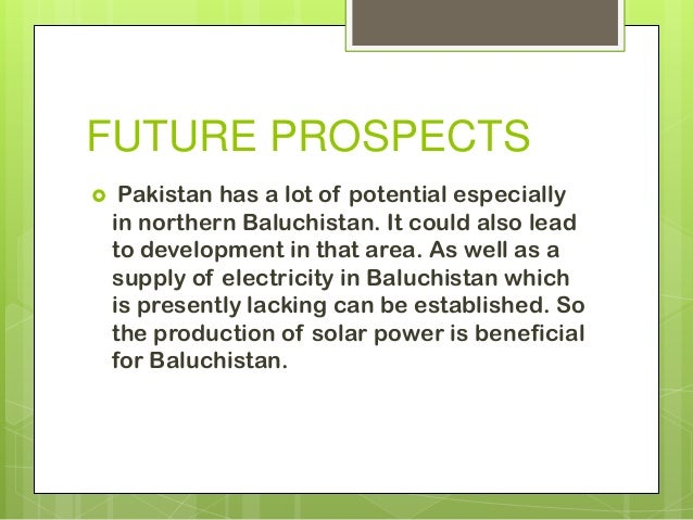 prospects for pakistan Prospects for all, islamabad, pakistan 765 likes a platform which provides information regarding career opportunities like jobs, international.