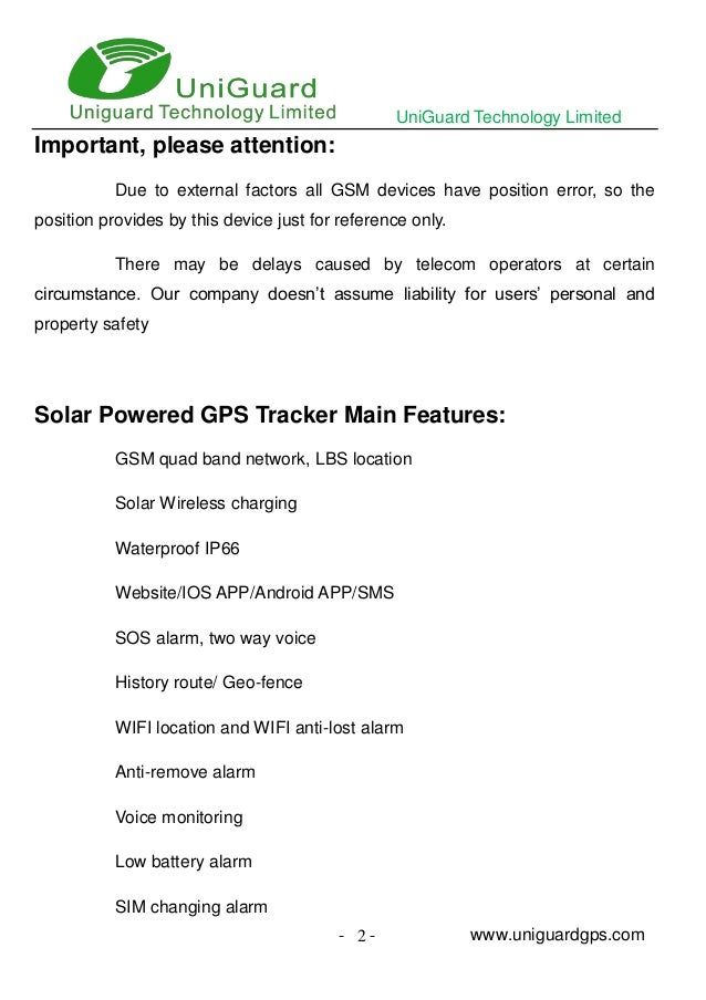 Solar powered gps tracker for pets and hidden cost user manual
