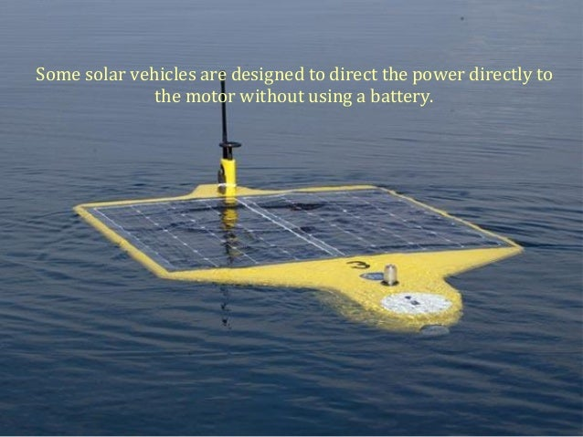 Solar Powered Vehicles The Future Of Transportation