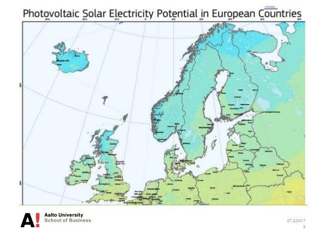 Solar power in Finland 2016-2017 Slide 3