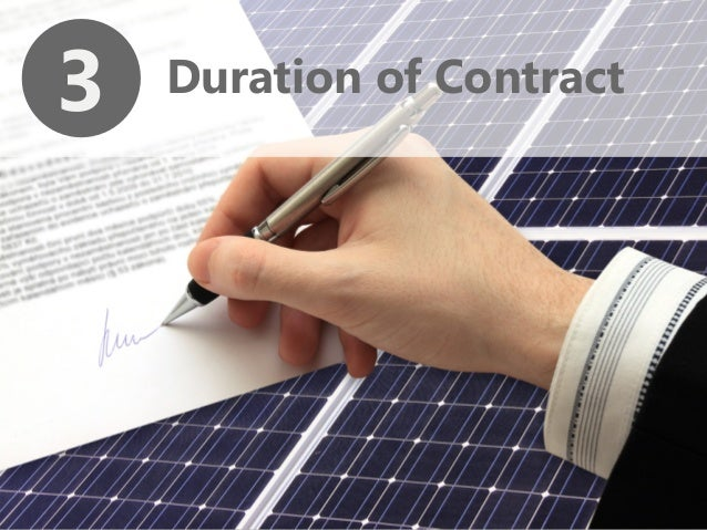 Solar power purchase agreement contracts 3 duration of contract platinumwayz