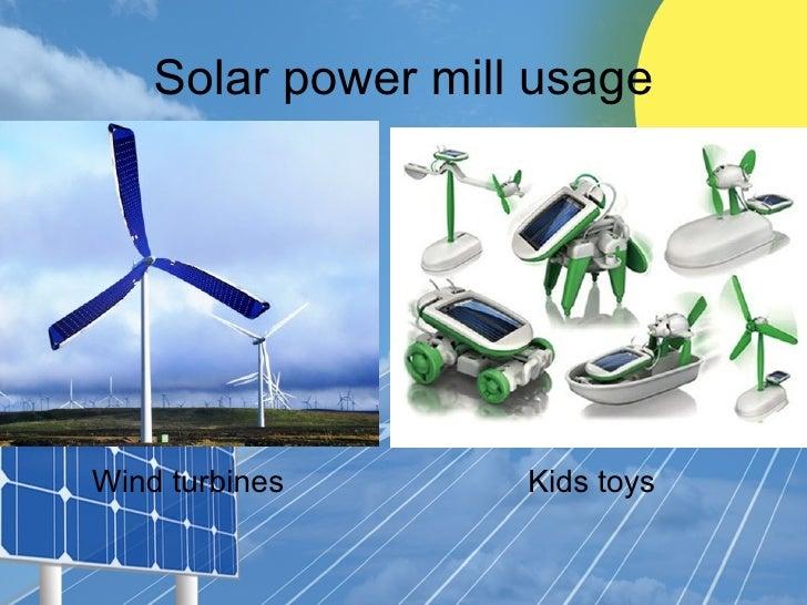 Solar power kids for Solar power kids