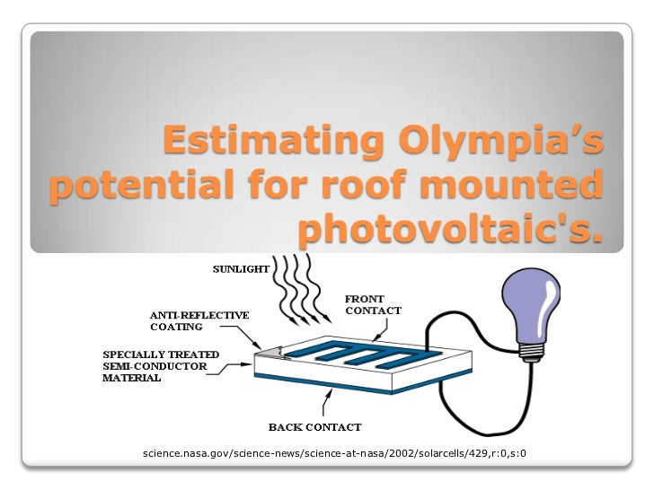 Estimating Olympia'spotential for roof mounted            photovoltaics.  http://science.nasa.gov/science-news/science-at-...