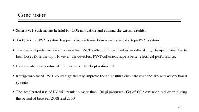 Solar Photovoltaic Thermal Hybrid System Seminar Topic