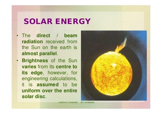 Solar Radiation Geometry Slide 3