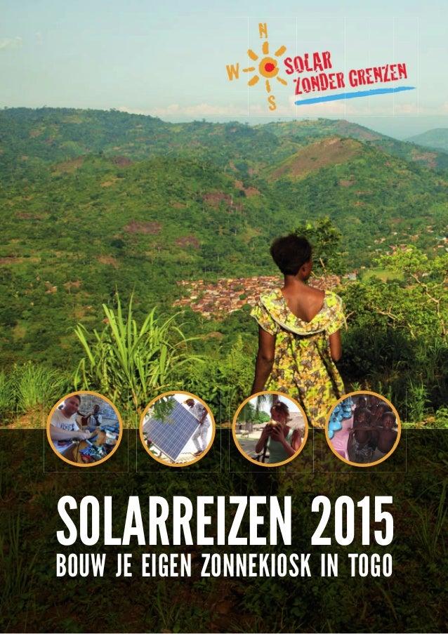 Solarreizen 2015 bouw je eigen zonnekiosk in togo for Bouw je eigen badkamer
