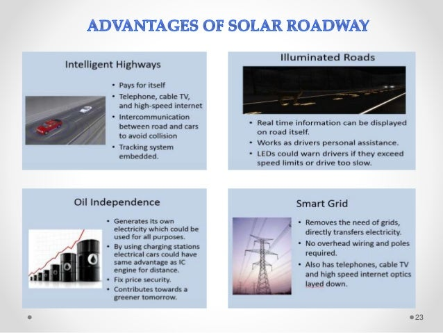 Solar Roads Seminar