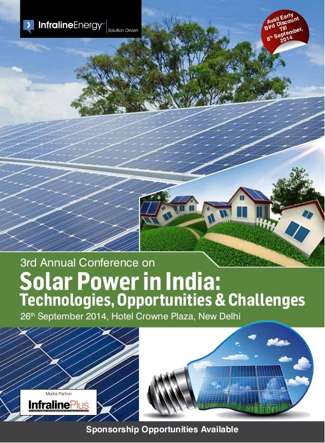 3rd Annual Conference On Solar Power In India