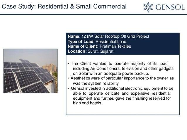 Solar Rooftop Presentation