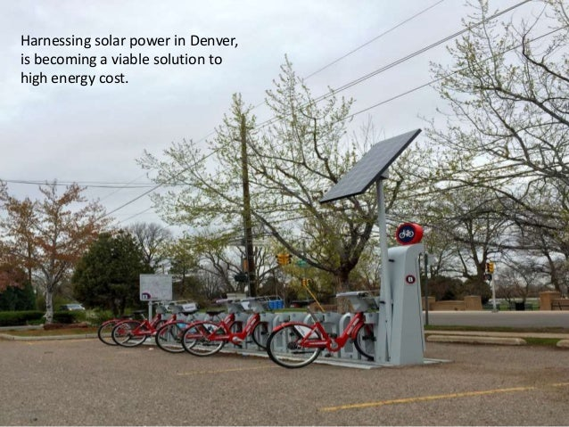 Harnessing solar power in Denver, is becoming a viable solution to high energy cost.