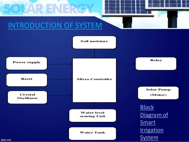 Smart irrigation system project pdf