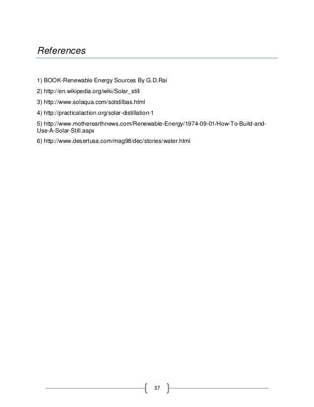 Solar thermal energy essay