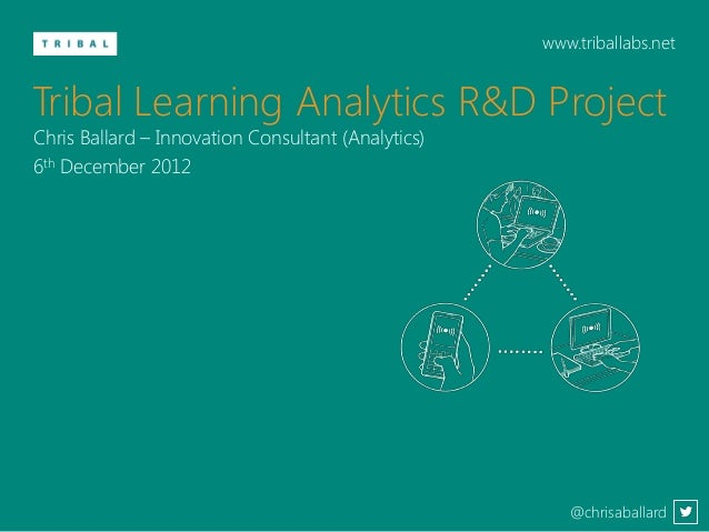 www.triballabs.netTribal Learning Analytics R&D ProjectChris Ballard – Innovation Consultant (Analytics)6th December 2012 ...