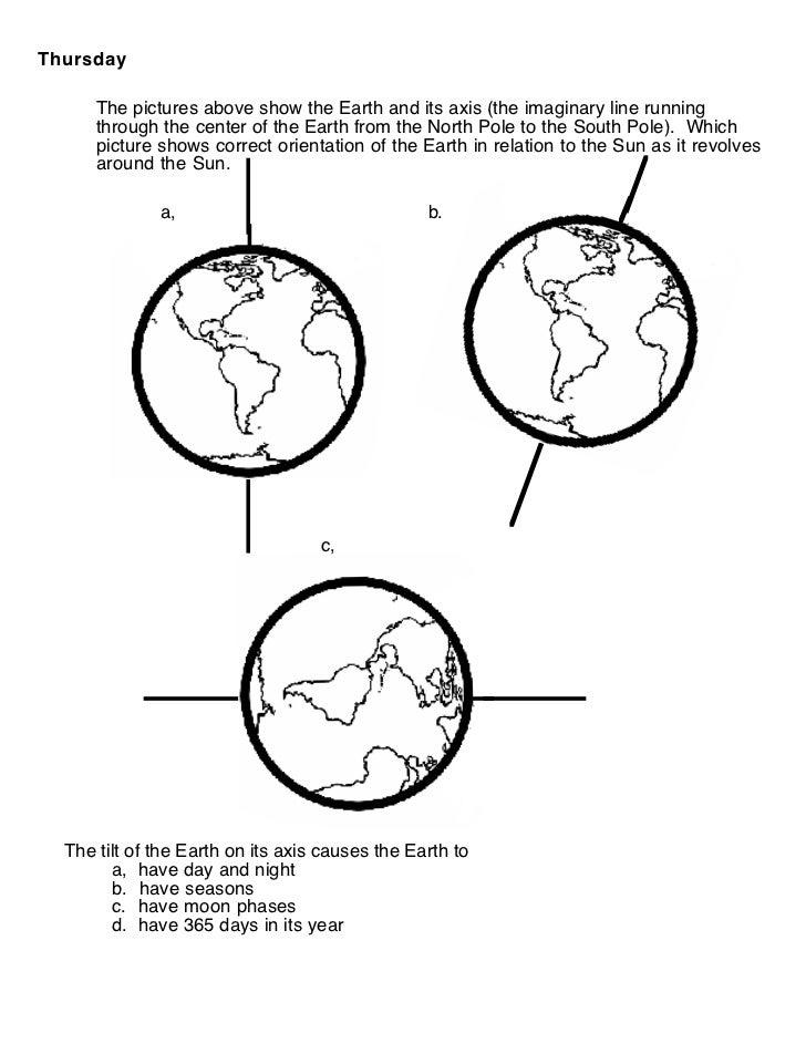 Solar System Models Worksheet 3
