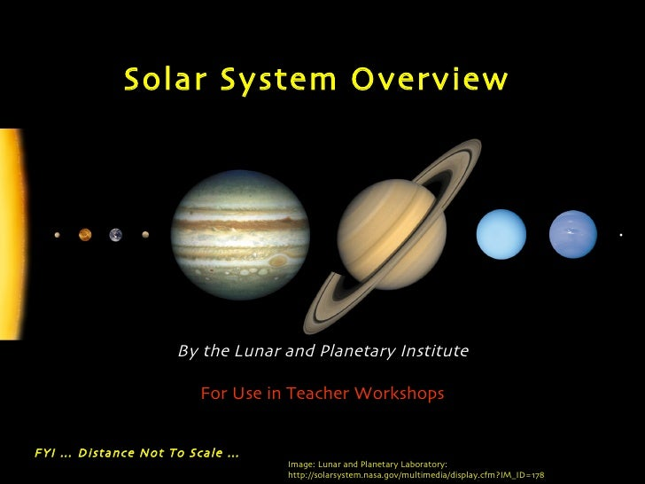 over view of solar system - photo #3