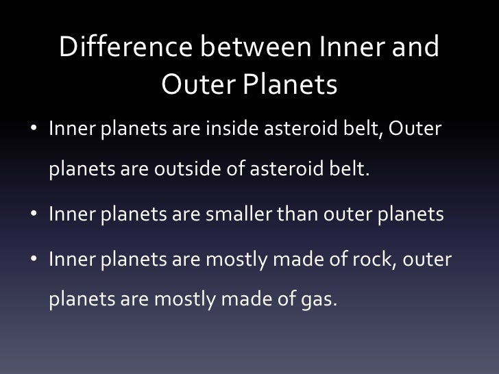 characteristics of the outer planets - photo #15