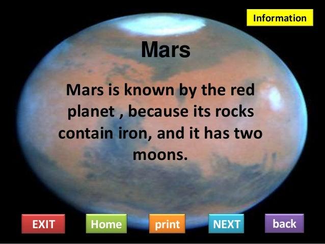 mars solar system information - photo #16