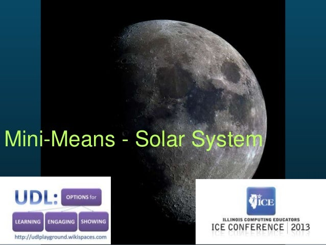 Mini-Means - Solar System