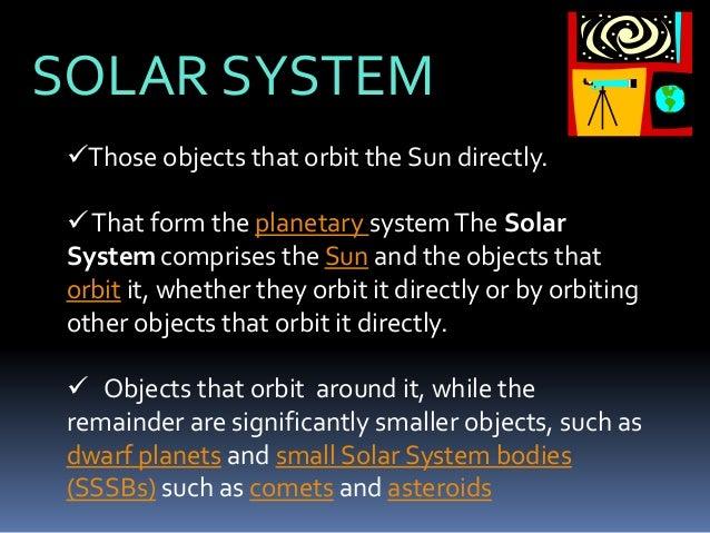 solar system class th  solar