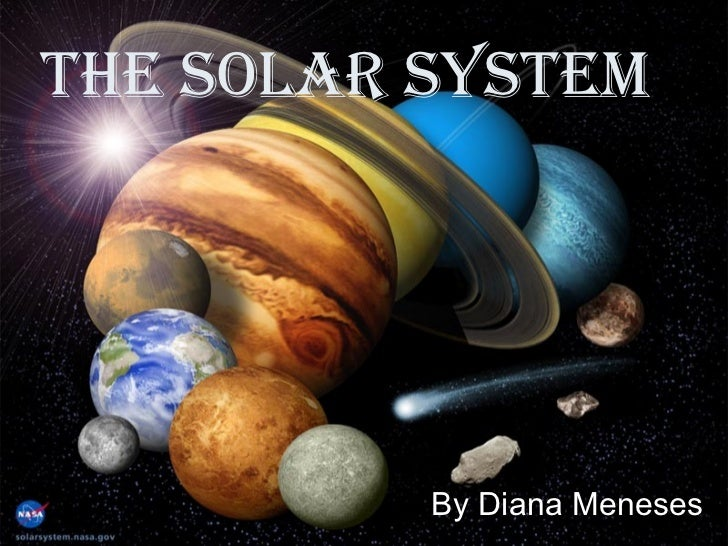 The Solar SySTem          By Diana Meneses
