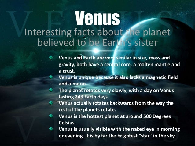 informative essay about planet venus An essay or paper on planet venus 1) the surface of venus is 900ºf, or 480ºc, which is due to the greenhouse effect on venus's surface, signs of chemical.