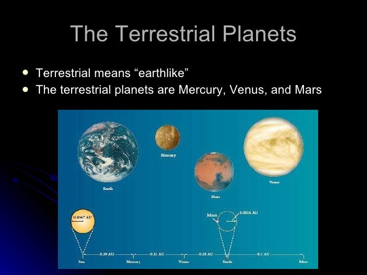which are terrestrial planets in our solar system - photo #5