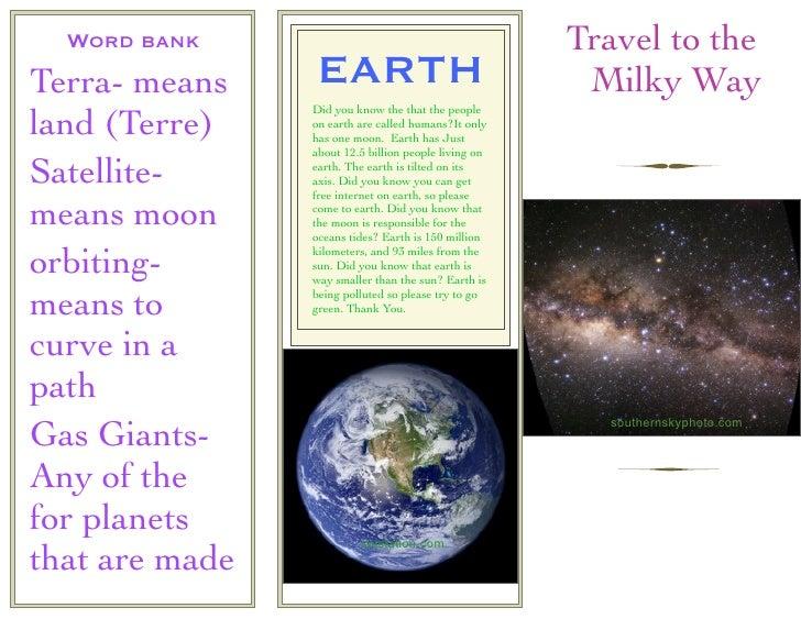 planet earth brochure - photo #22
