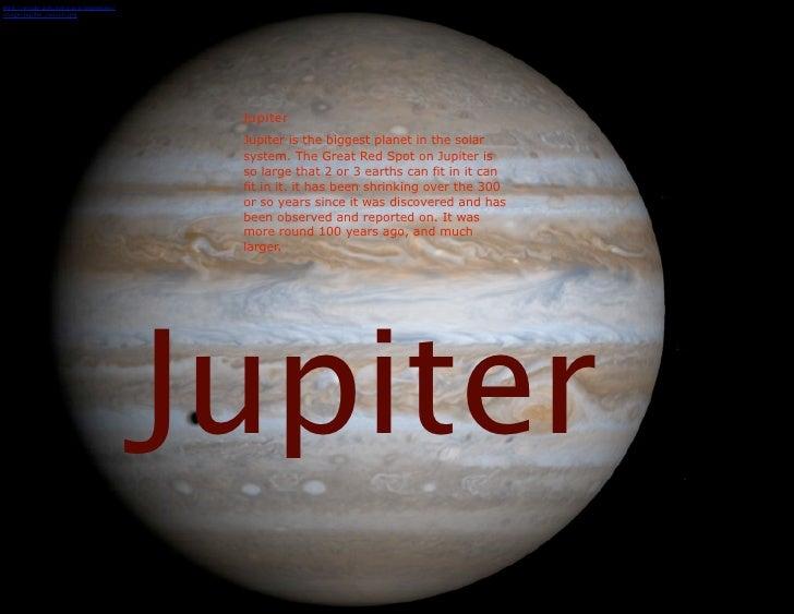 Image Gallery jupiter planet solar system
