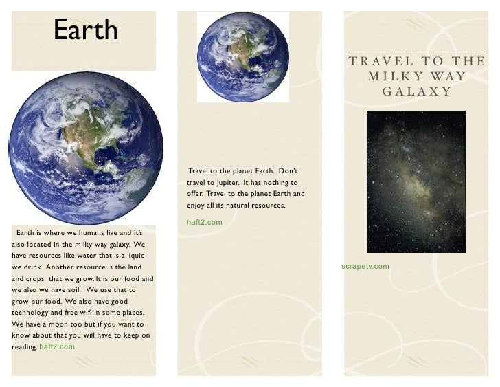 Solar System Travel Brochure (page 4) - Pics about space