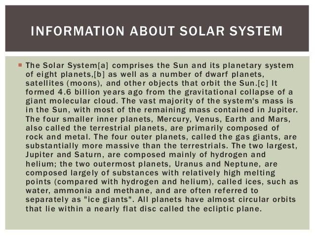 My Solar System Project – Preparation | •●♥ Kemdi ♥●•