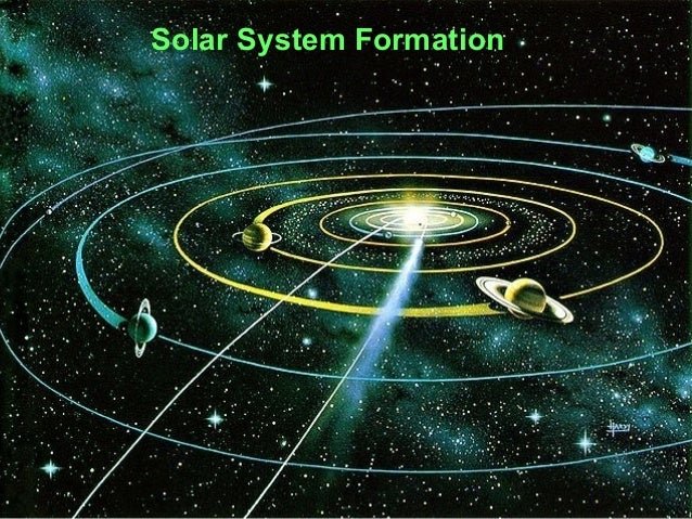 Solar System Formation/Sun/Comets/Meteors