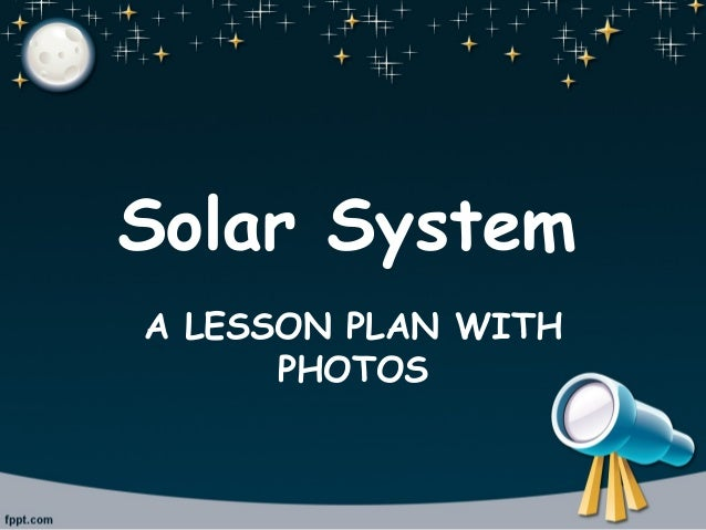 on solar system lesson - photo #6