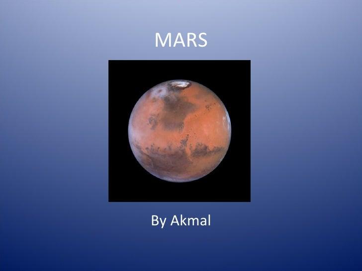 MARS By Akmal