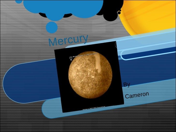Mercury By Cameron