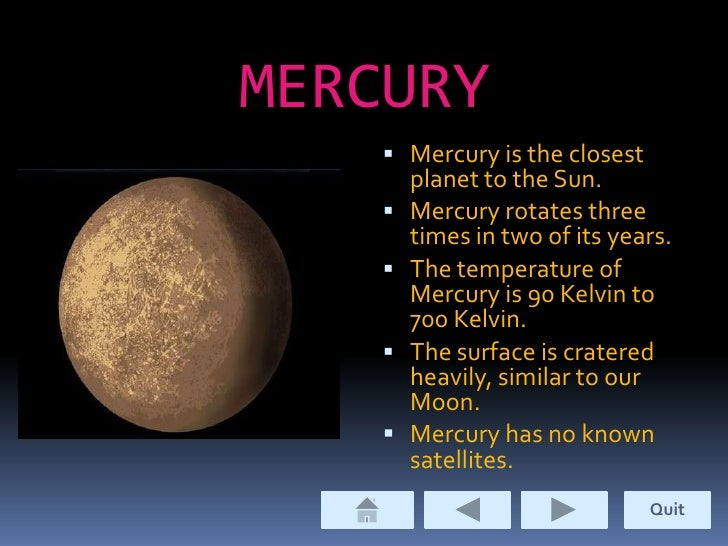 powerpoint presentation on planets - photo #6