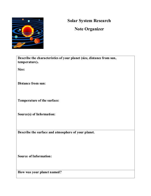 solar system research paper - photo #6