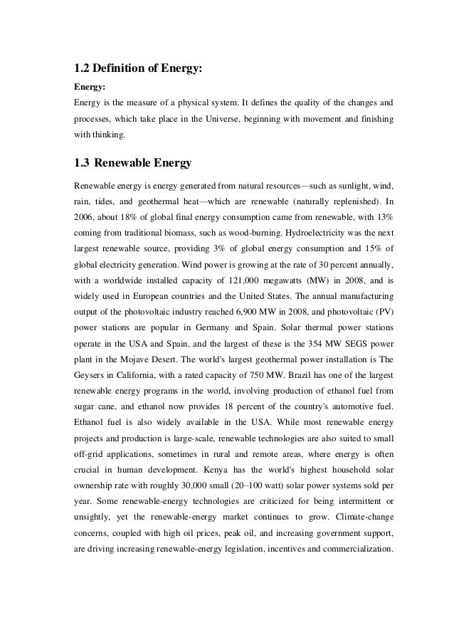 solar energy essay introduction Bagher, askari mohammad introduction to organic solar cells sustainable energy 23 (2014): 85-90 bagher, a m (2014) introduction to organic solar cells.